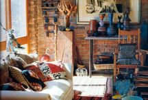 Natural Homes and hippie interiors