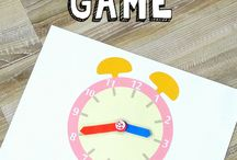 telling Time preschool ideas