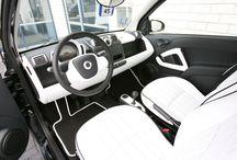 auto zwart wit