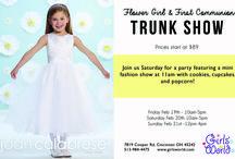 Flower Girl & First Communion Trunk Show