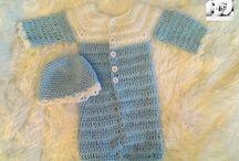 Nid d' anges,gigoteuse etc / créas nid d ange au crochet http://www.alittlemarket.com/boutique/reborneuse_shop-710861.html