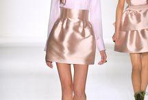 Satin skirts