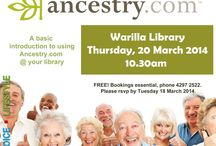 Family History / Family history services at Shellharbour City Libraries