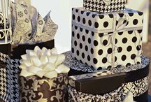 Gorgeous gift wrappings!