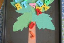 ABC Coconut tree birthday
