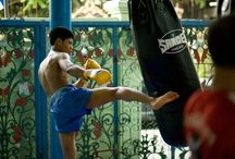 Thailand / The Land of Smiles, the spiritual home of Sandee. Fights Fighters, stadiums, camps,