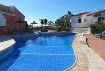 Pueblo Los Arcos 4 Nerja / Holiday townhouse with private garden and shared pool