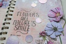 Take 5 ~ Art journal pages