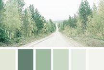 Cores verdes
