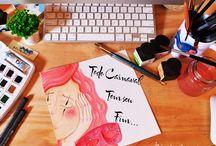 My work / Meu trabalho, minha paixão! / by Jackie Monteiro