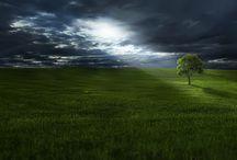 """Paysages fabuleux`•. ¸ ¸. ☆ / Des paysages pas juste """"beaux""""... mais à couper le souffle !"""