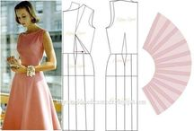 Sukienki - wzory, wykroje