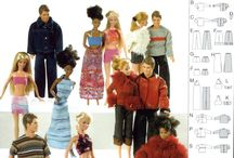 Barbie patterns - BURDA