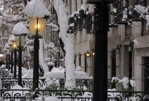 Winter wonderland city / by marie M
