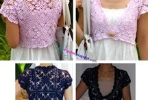 Crochet apparel
