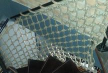 Naše realizace - IRISH PUB Šternberk / Ochranná síť ke schodišti