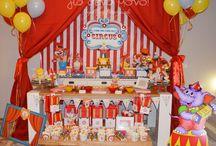 Circus Birthday Party / Circus Birthday Party!  Ένα Party γενεθλίων με θέμα το Τσίρκο για τον Θανάση που έκλεισε τον πρώτο χρόνο ζωής του!  #birthday #birthdayparty #party #celebration #boy #Circus #First_birthday #decoration #child #Red #blue
