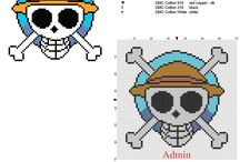 Point de croix one piece