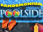 Pandemonium at the Poolside.  A Sunshine'y Murder Mystery Party / A fun poolside murder mystery party for any swimming pool or beach setting for 8-16+ guests, 14 and up. You can invite over 25 guests by using the expandable characters that can play as teams! Have this party on the beach or even have a luau for some real Hawaiian fun!