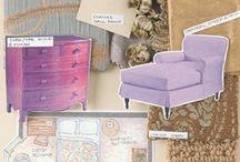 Interior design and Fashion design
