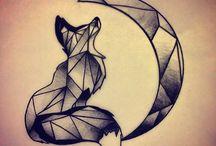 fox tattoo idea