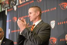 Head Coach Gary Andersen / Gary Andersen is introduced as Oregon State's Head Coach on December 12, 2014. / by Oregon State Athletics