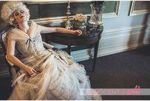 18th Century photoshoot Ian Stuart dress / styled by Carly Florentine, shot by David Shelrick  http://innocentandwild.com/fetcham-park-fashion-shoot/