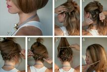 HAIR TUTORIAL / by Mercedes Arballo
