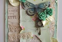 pretty crafting bits and bobs