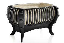 """Art Furniture - La Perla Crib Black Edition / La Perla Crib Black Edition. """"Born to shine"""". The world´s most expensive baby crib."""