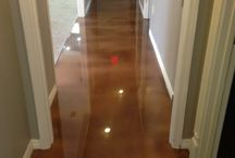 Stairwell Flooring / For high areas of foot traffic, stairwell flooring works great for safety and aesthetics.