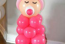 Festa e balões