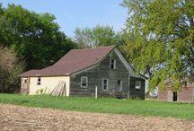 Pioneer Log Cabin / Restoration and re-purposing of an 1874 pioneer log cabin.