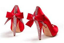Shoe-Be-Do-Be-Do / Cinderella is proof...shoes can change your life..... falling off some of these extravaganzas could END your life!!!!  Want a future lucrative career--become a podiatrist!  Be that as it may, I love beautiful shoes and it's fun to look at the weird, funky ones.  / by Patricia Reid
