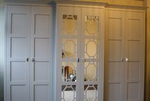 Fitted Wardrobes / Hand crafted and painted wardrobes