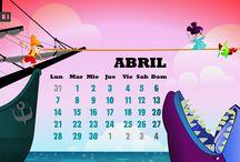 April / Abril