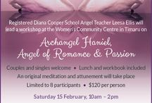 Events / Spiritual workshops and events that I'm holding in the Mid to South Canterbury region of New Zealand.