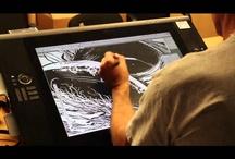 Video about Art, Comics Making