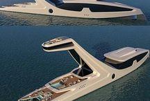 jachty - lodě