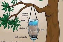 Filtros de Agua caseros, tecnología a su alcance... / by José Abreu