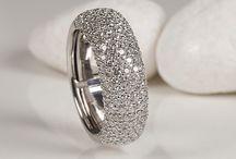 Pavé rings