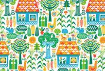 Patterns / Surface pattern design, pattern inspiration