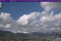 Parnis mountain / View from HD CAM of meteoacharnes Eeather station