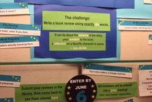 Library/ book corner display ideas