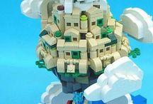 architecture en Lego