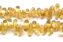 Citrine Natural Faceted Gemstone Beads