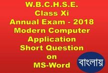 WB class Xi Computer Short Question Video 2018