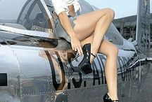 pin up aviones fotos chulas