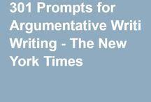 301 promts for argumentative writing