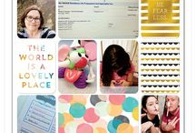 2015 Project Life Creative Team / Layouts and blog posts from the 2015 Project Life Creative Team - traditional layouts, digital layouts and project life app layouts.